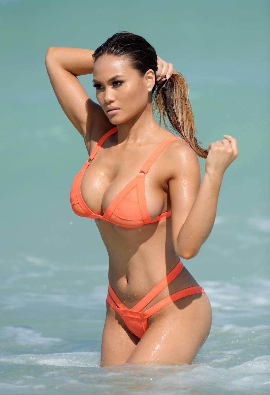 Daphne Joy in a bikini