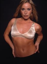 Tamzin Outhwaite in lingerie