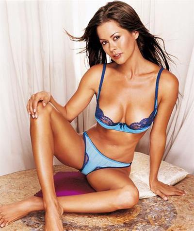 Brooke Burke in lingerie