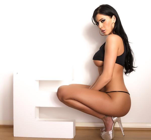 Ella Mai in a bikini
