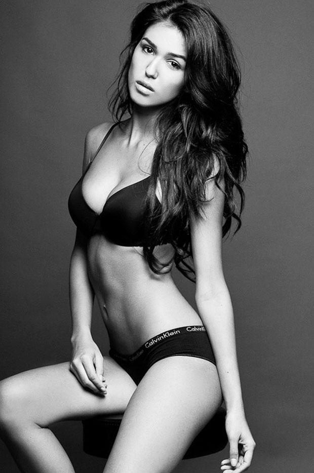 Ashley Sky in lingerie