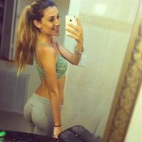 Brittany Suleiman in Yoga Pants taking a selfie and - ass