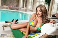Fernanda Ferrari in a bikini