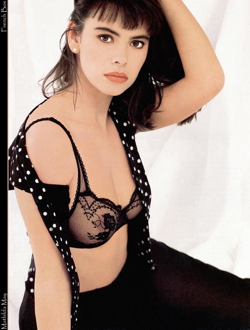 Mathilda May in lingerie