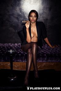 Playboy Cybergirl - Eugena Washington Nude Photos & Videos at Playboy Plus!