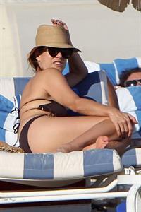 Kate Walsh in a bikini