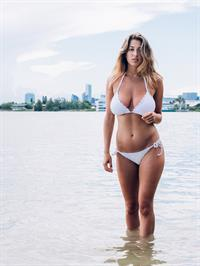 Lindsey Kevitch in a bikini