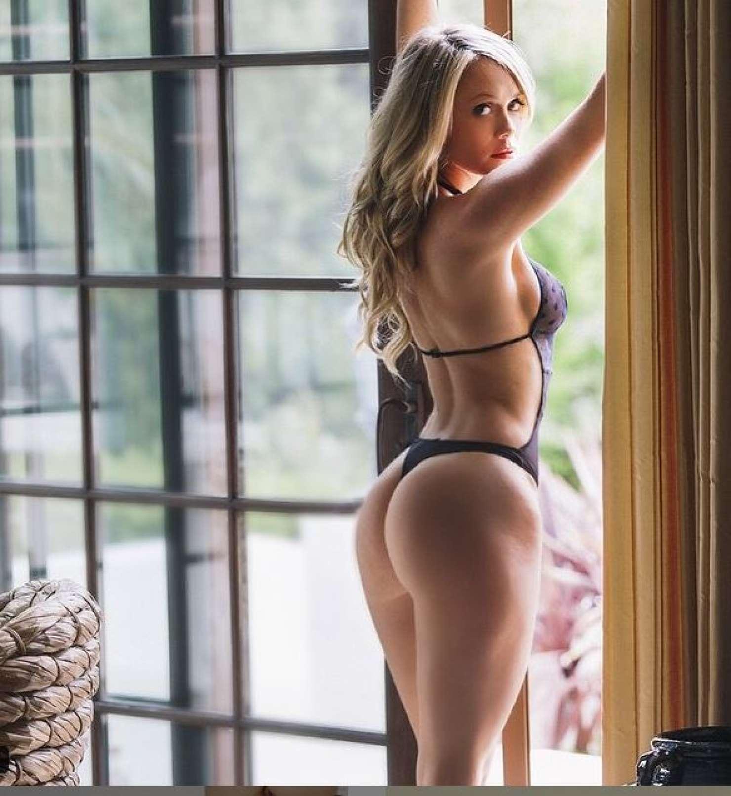 Katie May in a bikini - ass