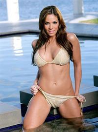 Melany Denyse in a bikini