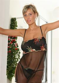 Milly Morris in lingerie