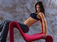 Monika Vesela in lingerie