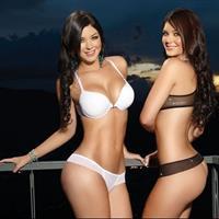 Camila Davalos in lingerie - ass