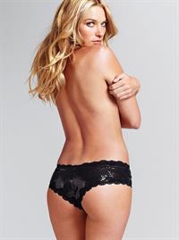 Jessica Hart in lingerie - ass