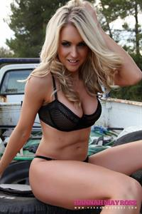 Kayleigh Pearson in lingerie