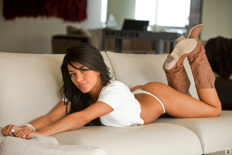 Angie Marie in lingerie