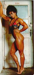 Sharon Bruneau in a bikini