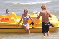 Carmen Russo in a bikini