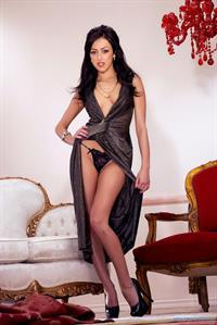 Breanne Benson in lingerie