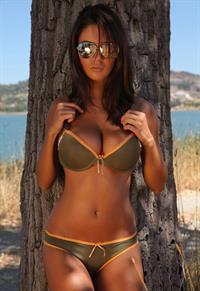Ela Savanas in a bikini