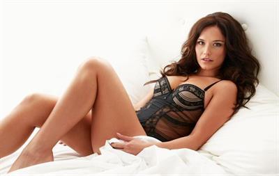 Katya Virshilas in lingerie