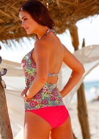 Violet Budd in a bikini - ass