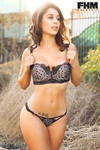 Tianna Gregory in lingerie