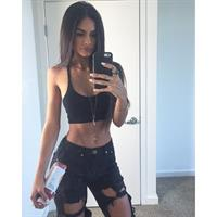 Sophia Miacova taking a selfie