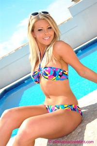 Staci Noblett in a bikini