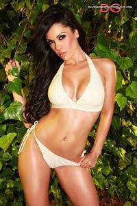 Carissa Rosario in a bikini