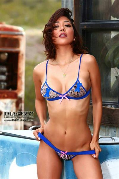 Lizzeth Acosta in a bikini