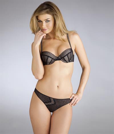 Sarah Mutch in lingerie