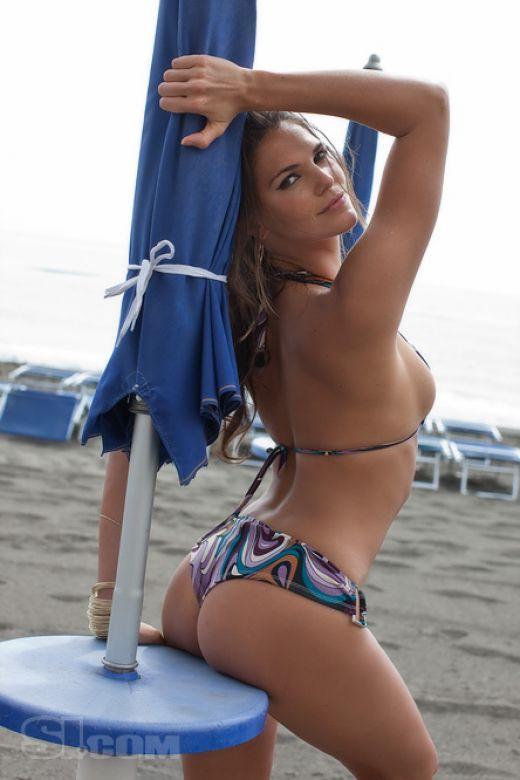 Daniella Sarahyba in a bikini - ass
