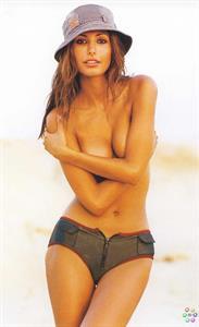 Elsa Benitez in a bikini