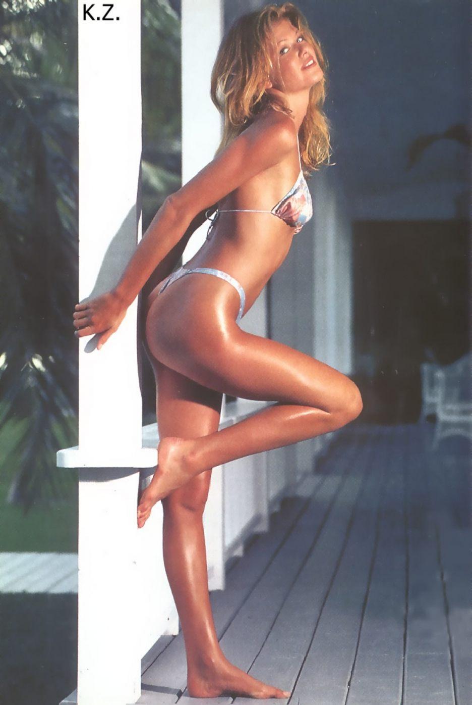 Ingrid Seynhaeve in a bikini
