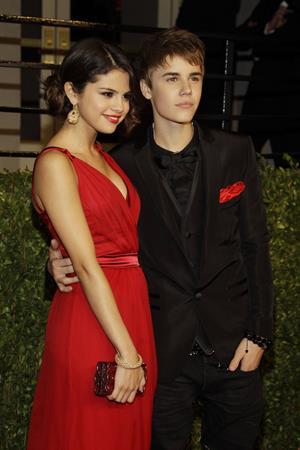 Selena Gomez Vanity Fair Oscar party in West Hollywood on February 27, 2011