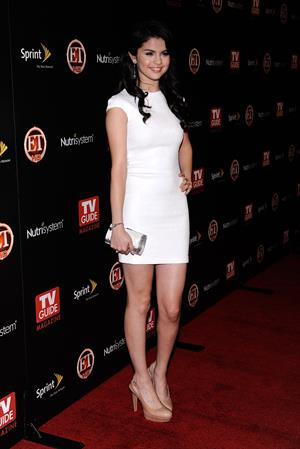 Selena Gomez TV Guide Magazines hot list party at SLS hotel in Beverly Hills California