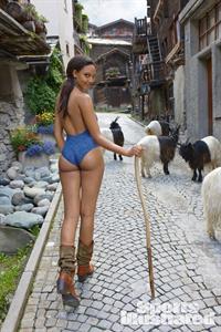 Ariel Meredith in a bikini - ass