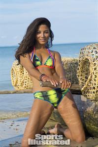 Jessica Gomes in a bikini