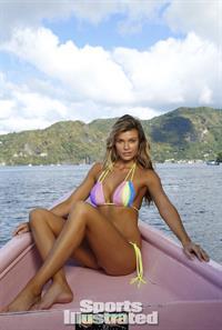 Samantha Hoopes in a bikini