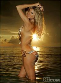 Marisa Miller in a bikini - ass