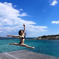 Almila Ada in a bikini