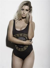Jess Davies in a bikini