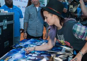 Demi Lovato attends 104.3 MY FM My Big Night Out on June 16, 2014 in Hollywood, California