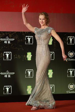 Nicole Kidman attends 17th Shanghai International Film Festival June 14, 2014 in Shanghai, China