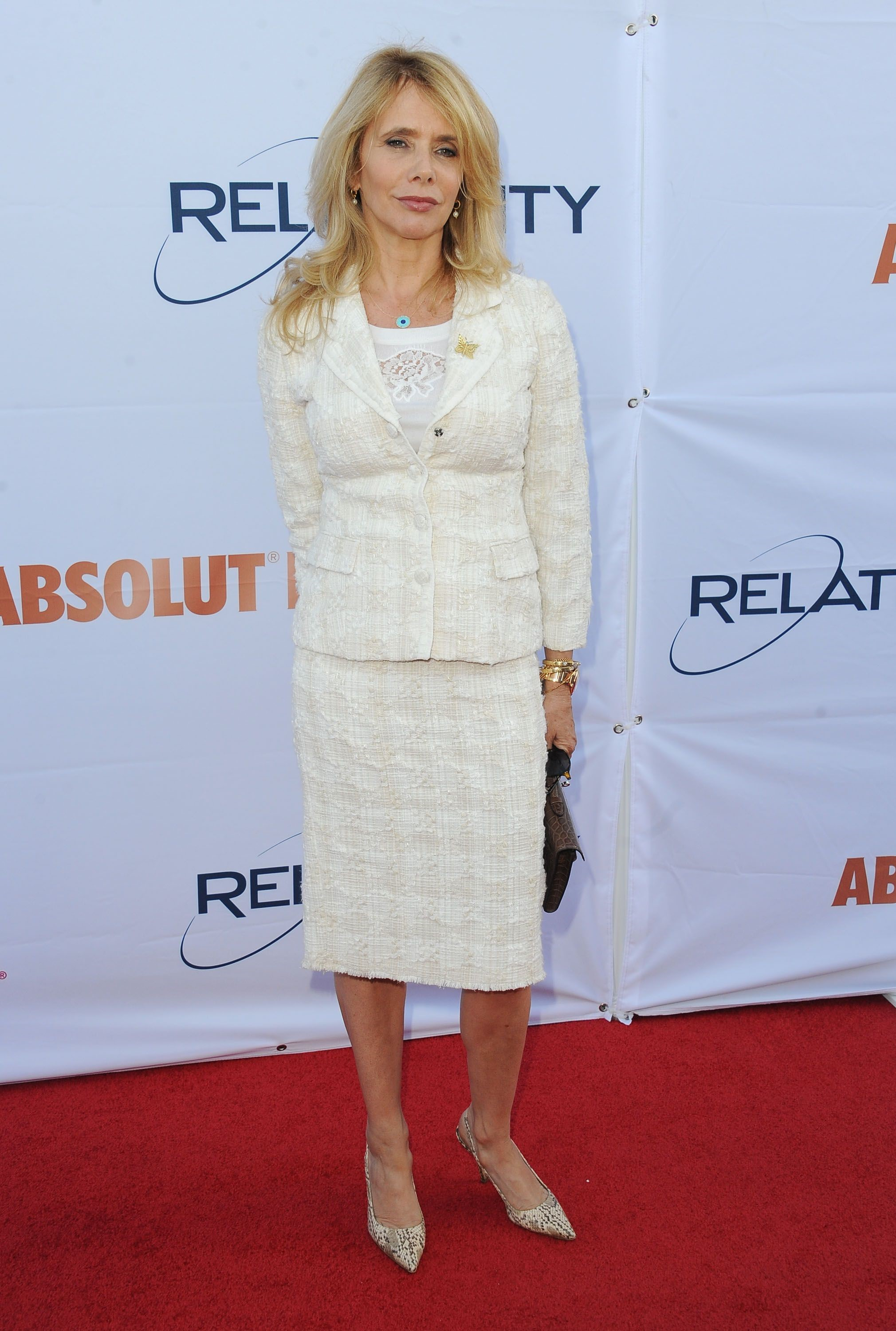 Rosanna Arquette attending Pathway to the Cure Benefit at Santa Monica Airport June 11, 2014