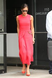 Victoria Beckham leaving her hotel, NYC June 10, 2014