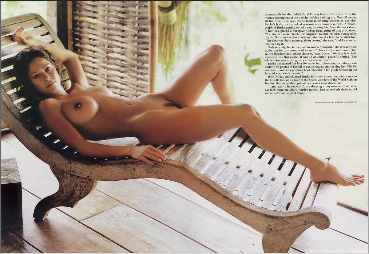 Consider, burke naked nude brooke be