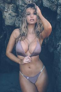 Lily Ermak in a bikini