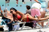 Nicole Minetti in a bikini