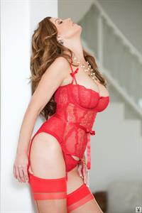 Carrie Stevens in lingerie